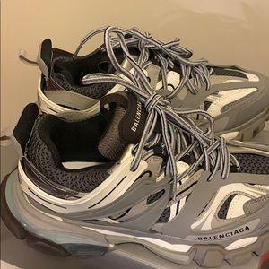 balenciaga track sneakers.